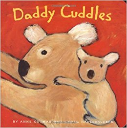 Daddy cuddles book