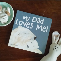 My Dad Loves me book
